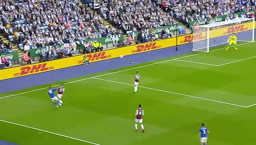 9. Hafta / Leicester City - Burnley: 2-1 (Özet)