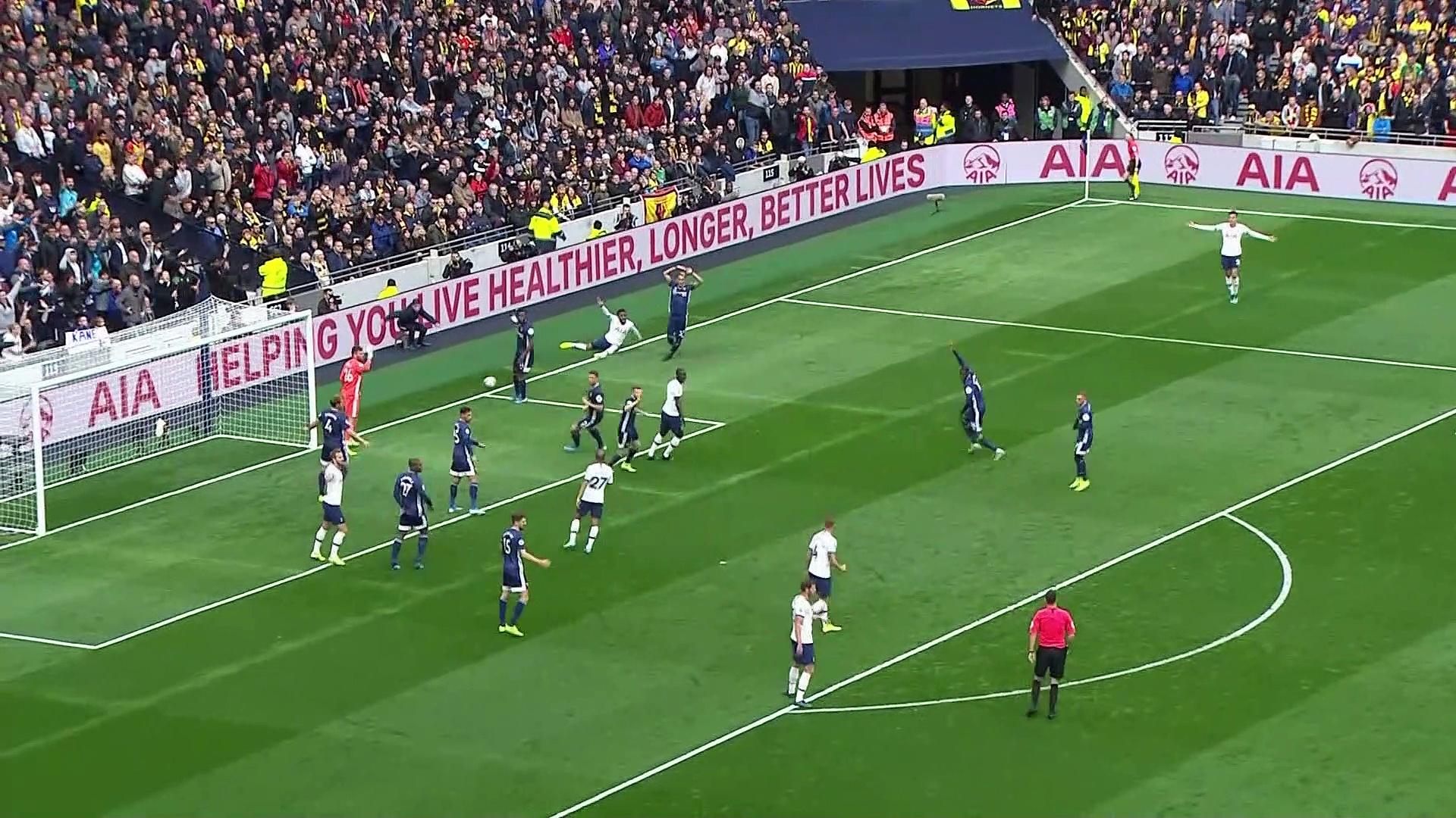 9. Hafta / Tottenham - Watford: 1-1 (Özet)