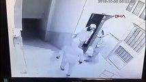 Öğrenci servisiyle hırsızlığa kalkıştılar, kıskıvrak yakalandılar