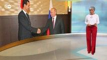 """50-долларовый """"спонсор"""" Навального и заменит ли Путин Трампа на Ближнем Востоке. DW Новости (15.10.2019)"""