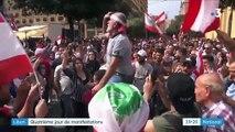Liban : quatrième jour de manifestations