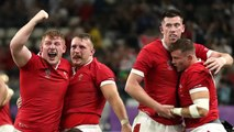 South Africa and Wales make it through to the World Cup semi-finals