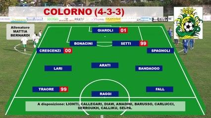 Colorno - Borgo San Donnino 2-2, highlights e interviste