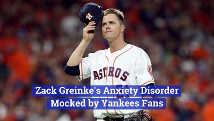 These Yankees Fans Were Giving Zack Greinke A Hard Time