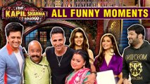 Kapil Sharma ALL Funny COMEDY Moments With Akshay Kumar & Team Housefull 4 | The Kapil Sharma Show