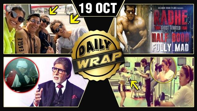 Kangana Sonam Turn Friends, Sara Ali Khan Boxing, Salman Khan's Radhe Teaser   Top 10 News