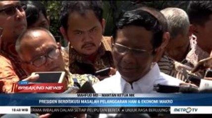 Bahas Hukum dan HAM dengan Jokowi, Mahfud MD: Saya Diminta Jadi Menteri