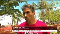Triathlon de Polynésie record battu pour Benjamin Zorgnotti