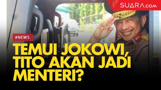 Kapolri Tito Karnavian Turut Dipanggil Jokowi ke Istana