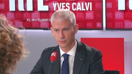 Franck Riester - L'invité de RTL Lundi 21 octobre