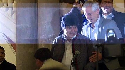 موراليس يتصدر الانتخابات الرئاسية لكنه مضطر لخوض جولة ثانية غير مسبوقة