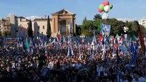 Roma -  In piazza San Giovanni il Popolo non ha dubbi ELEZIONI! (19.10.19)