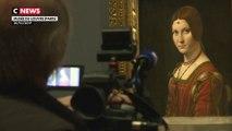 Léonard de Vinci s'expose au musée du Louvre à partir de jeudi