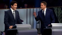 Canada elections: Trudeau battles to stay in office
