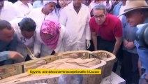 Égypte : découverte exceptionnelle de 30 sarcophages