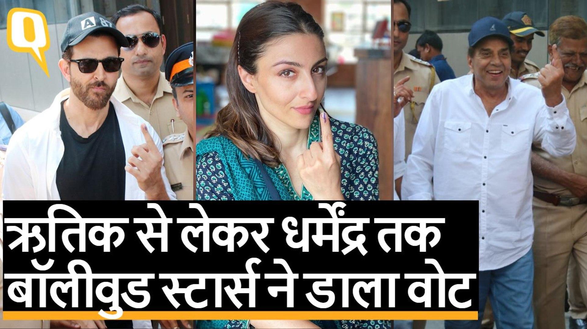 Maharashtra Election: Aamir से लेकर Dia Mirza समेत Bollywood के कई सितारों ने किया वोट. Quint Hindi