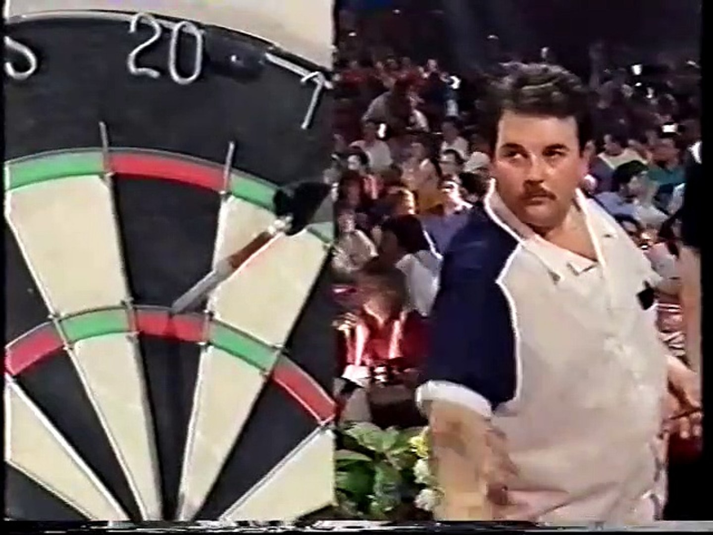 BDO World Darts Championship Final 1992 - Mike Gregory vs Phil Taylor  3of4