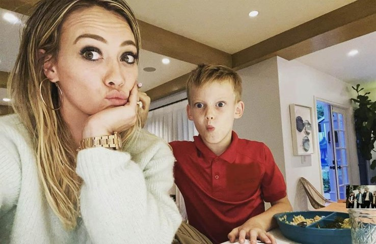 Hilary Duff says she's 'doomed' as she struggles to help son with homework