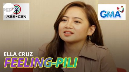 Ella Cruz chooses between ABS-CBN or GMA-7, Paul Salas or Francis Magundayao | PEP Challenge