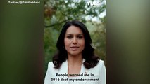Tulsi Gabbard Says Clinton Attacked Her For Supporting Sanders In 2016