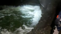 Rescate de los espeleólogos en la cueva Cueto-Coventosa