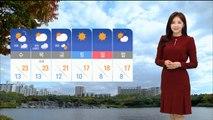[날씨] 출근길, 중서부 미세먼지↑…온화한 오후