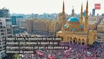 Liban : des manifestations pacifiques sans précédent