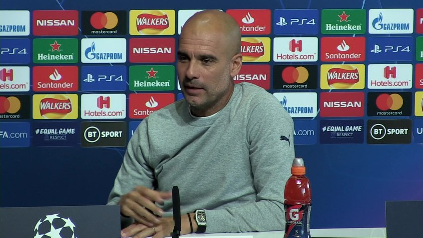 Aguero & Jesus, different abilities - Guardiola