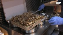 Gut-busting 5,000 calorie kebab served up in 15-inch pizza box