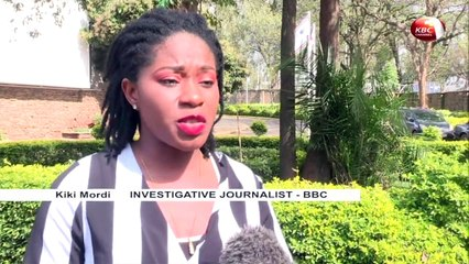 BBC reporter Kiki Mordi's interview on sexual harassment of female students