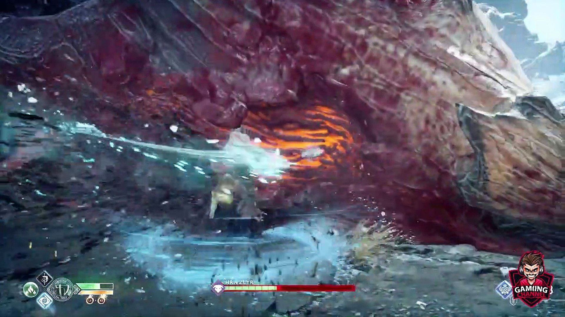 God of War 4 - Dragon Boss Fight (God of War 2019) PS4 Pro