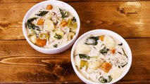 Slow-Cooker Creamy Gnocchi Soup Will Beat The Winter Blues
