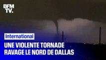 Etats-Unis: une violente tornade ravage le nord de Dallas