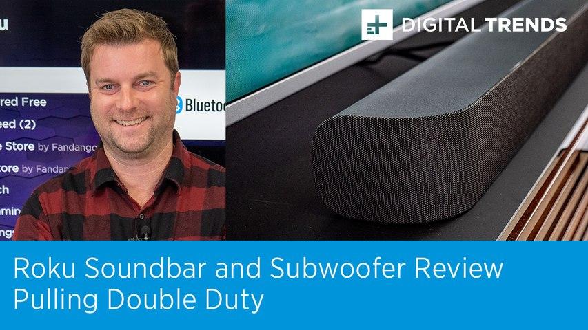 Roku Soundbar and Subwoofer Review
