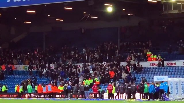 Blues Fan Brenda Reacts to Crowd Trouble at Leeds