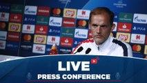 Replay : Conférence de presse de Tuchel et Meunier avant Club Brugge - Paris Saint-Germain