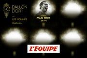 De van Dijk à Firmino, les nommés de 16 à 20 - Foot - Ballon d'Or France Football 2019