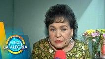 Carmen Salinas relata cómo fue su debut en el mundo de los espectáculos. | Venga La Alegría