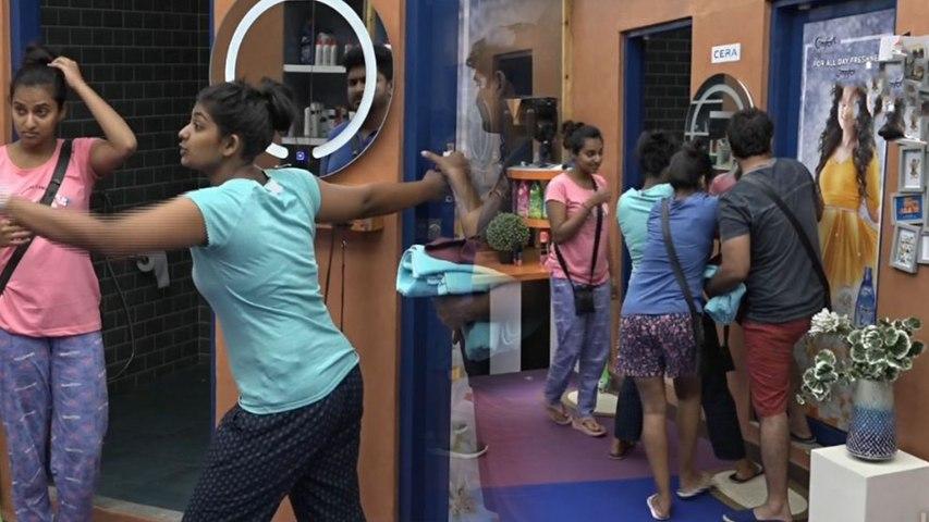 Bigg Boss Kannada 7 : Bhoomi Shetty locks somebody in the Bathroom