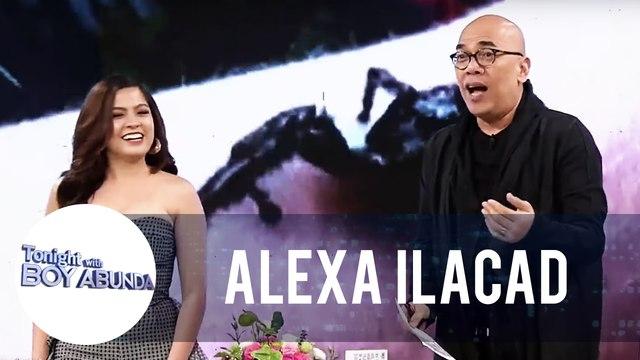 Alexa Ilacad takes on 'Ilacad Papunta o Ilacad Paalis Challenge' | TWBA