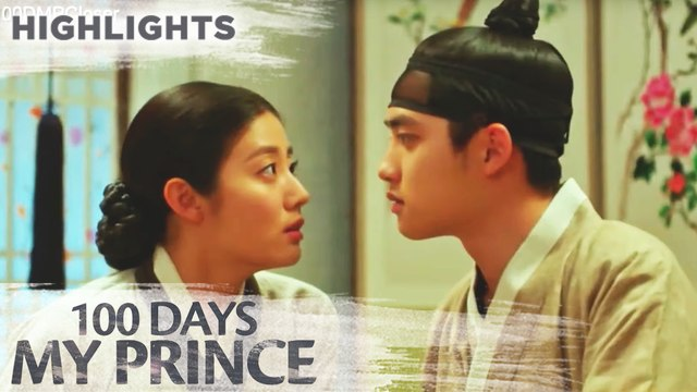 Won Deok asks Yi Seo about her interest | 100 Days My Prince