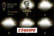 De Rapinoe à Marta, les nommées de 11 à 20 - Foot - Ballon d'Or féminin 2019