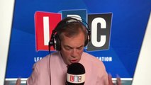 Nigel Farage's Reaction To John Bercow's Vote Decision Today