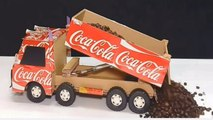 Amazing! DIY Coca Cola Truck - How to Make a Coca Cola Truck with DC motor