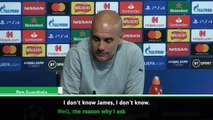 We are not strong in both boxes this year - Guardiola