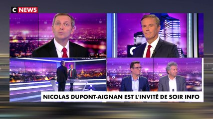 Nicolas Dupont-Aignan - CNews lundi 21 octobre 2019