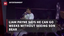 Liam Payne Doesn't See His Son Often