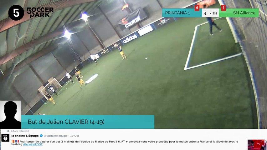 But de Julien CLAVIER (4-19)