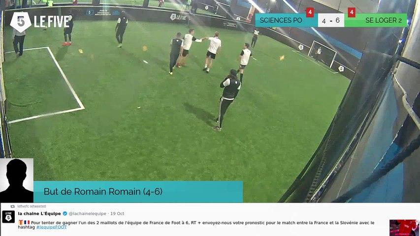 But de Romain Romain (4-6)