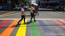 Rainbow Crossing in Manila